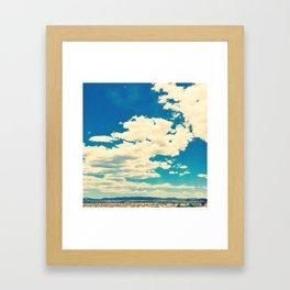 sky 1 Framed Art Print