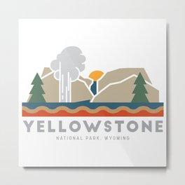 Yellowstone National Park Metal Print