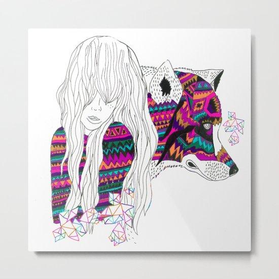 ▲SHE-WOLF▲ Metal Print