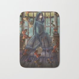 witch of knowledge Bath Mat