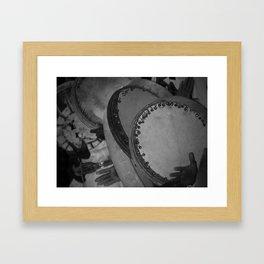 Saudi Drums Framed Art Print