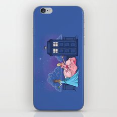 The Princess and the Doctor iPhone & iPod Skin