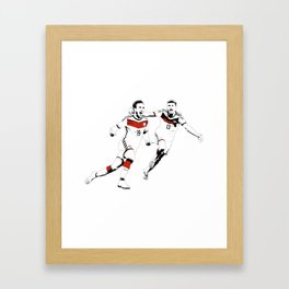 No Gotze, no party Framed Art Print