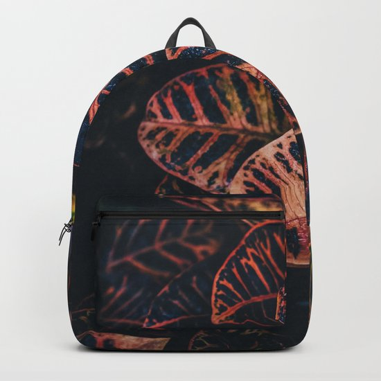 Dark Leaves - Nature Photography Backpack