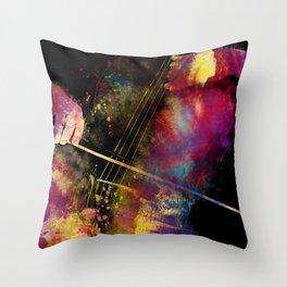 Violoncello art 1 #violoncello #cello #music Throw Pillow
