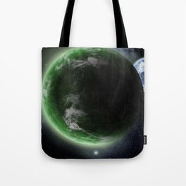 The Green Planet Tote Bag