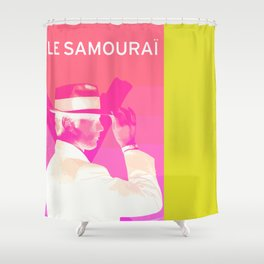 Le Samourai 1  Shower Curtain