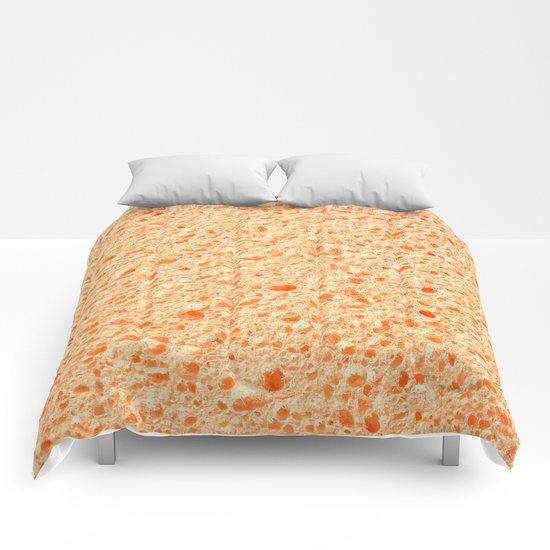 Sponge surface Comforters
