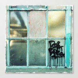 Window One A Canvas Print
