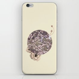 Natural, Flowers. iPhone Skin
