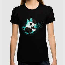 Skull 'n' Roses (ScribbleNetty-Colored) T-shirt