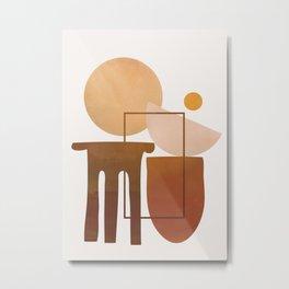 Modern Abstract Art 51 Metal Print