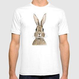 cute innocent rabbit T-shirt