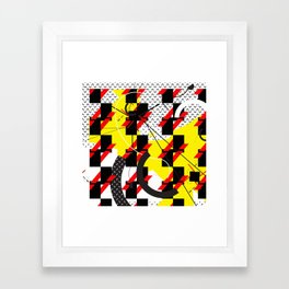 Thought I Was A Spaceman Framed Art Print
