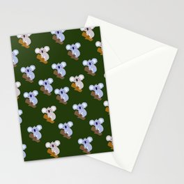 hell perfectionist koala Stationery Cards