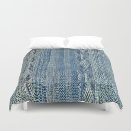 Ndop Cameroon West African Textile Print Duvet Cover