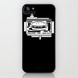 Killing Me Softly iPhone Case