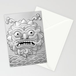 The Angry Sun  Stationery Cards