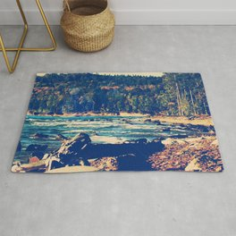 Rocky Shores of Lake Superior Rug