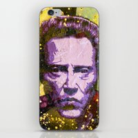 christopher walken iPhone & iPod Skins featuring Christopher Walken by Bobby Zeik