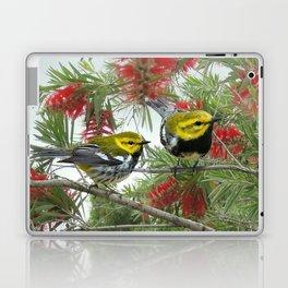Black-throated Green Warbler Laptop & iPad Skin