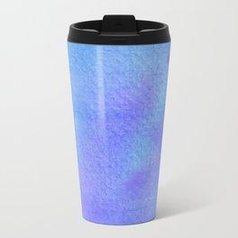 Blues & Purples Watercolor Travel Mug