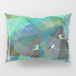 BIRDS P19 Pillow Sham