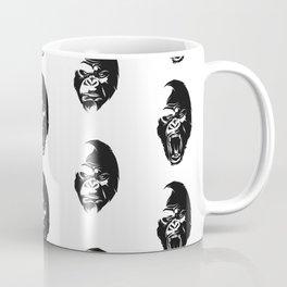 Angry Gorillas Pattern Coffee Mug