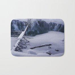 Snowy Lake Louise Bath Mat
