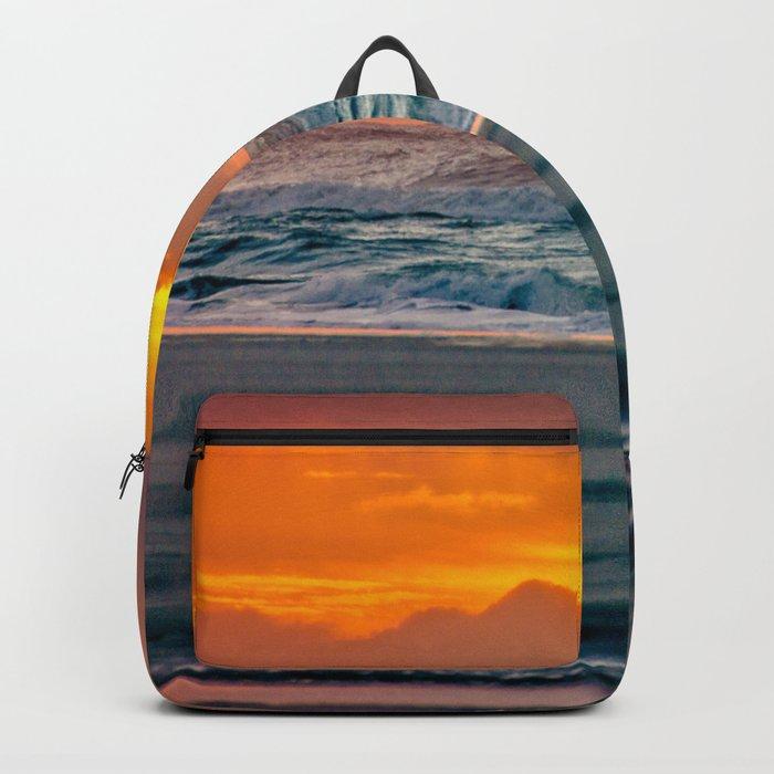 Ocean Sunset - Pacific Coast Highway 101 Backpack