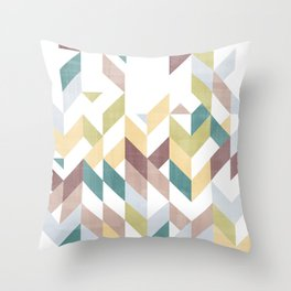 Shevron 1 Throw Pillow