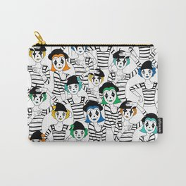 Millions of Mimes Carry-All Pouch