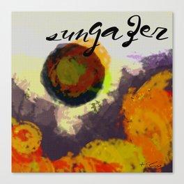 Sungazer Canvas Print