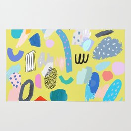 """""""Save The Earth"""" Series Modern Contemporary Art Rug"""