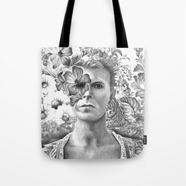 Bowie Goodbye For now Tote Bag