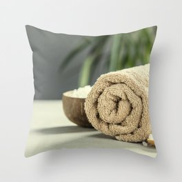 spa products Throw Pillow