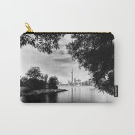Toronto Black and White Carry-All Pouch