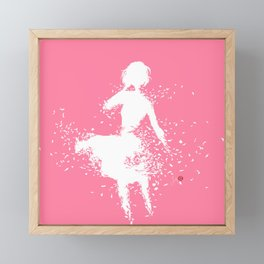 Into Infinity Framed Mini Art Print