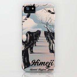 Himeji,  Kansai region Japanese Blossom trees iPhone Case
