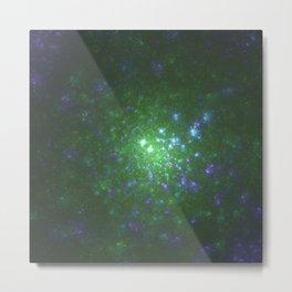 Galaxy of Sir Douglas Fresh Part 3 [Purple Green] Metal Print