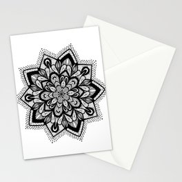 Dotty Star Mandala Stationery Cards