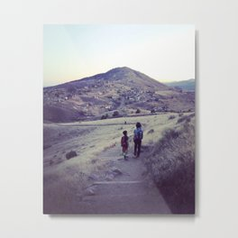 Brother's Mountain Metal Print