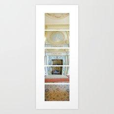 Dinning Hall/ Bass Mansion Art Print