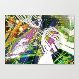 Psycle Canvas Print
