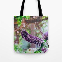 Garden Purples Tote Bag