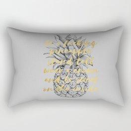 Be A Fucking Pineapple Rectangular Pillow