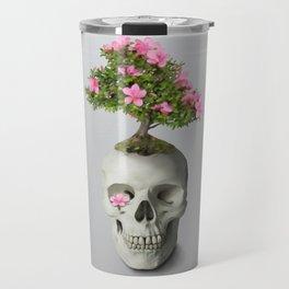 Bonsai Skull Travel Mug