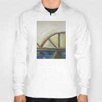 bridge Hoodies featuring Bridge by Vilnis Klints
