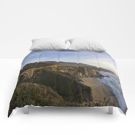 Bixby Bridge at Big Sur Comforters