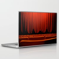 theatre Laptop & iPad Skins featuring Classic Theatre by creations by Cinnamon